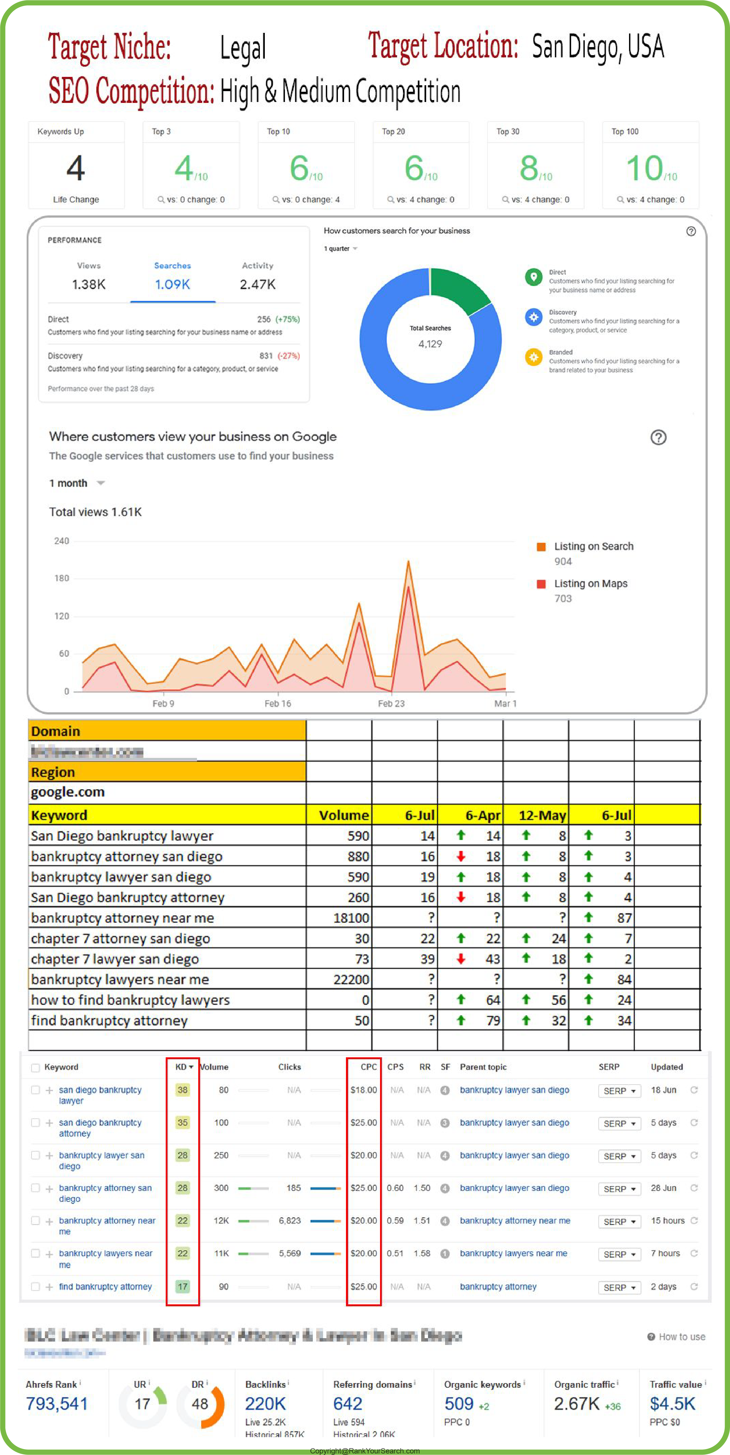 affordable SEO services case study