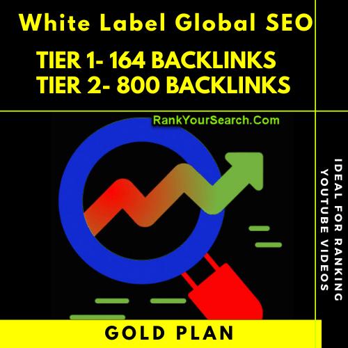 White Label Global SEO Reseller   Gold Plan