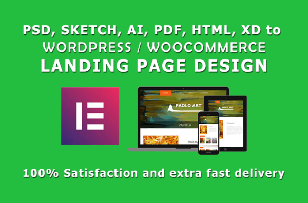 design wordpress landing page PSD to wordpress using elementor pro1 White Label SEO Reseller | Rank Your Website#1 for $199